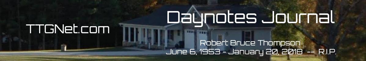 Daynotes Journal